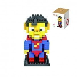 Super Man. LoZ 9152 - Kit de construcción miniaturizada. Diamond Block. 150 piezas.