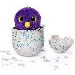 Hatchimals - Draggle Brillo Magic, juguete electrónico (Bizak 61921921)