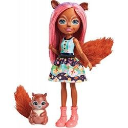 Enchantimals Muñeca Squirrel
