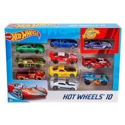 Hot Wheels Pack de 10 vehículos