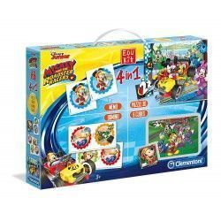 Clementoni Edukit 4 en 1 Mickey Top despedida Juego educativo