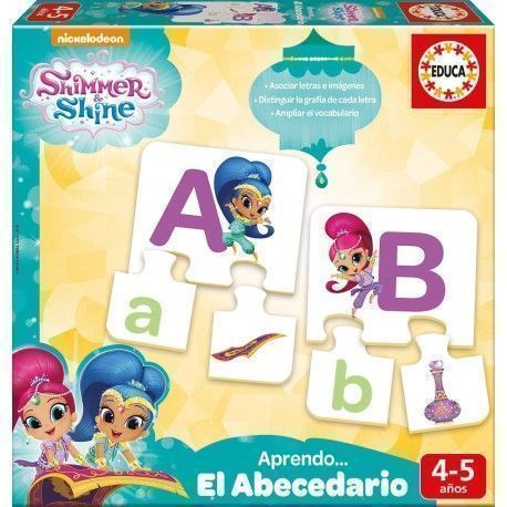 Educa Borrás Shimmer and Shine Aprendo El Abecedario