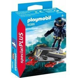 Playmobil Especiales Plus - Espía con Jet