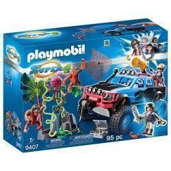 Playmobil Super 4 Monster Truck con Alex y Rock Brock, multicolor