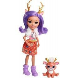 Enchantimals Muñeca Danessa Deer, Multicolor
