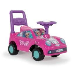 Injusa - Shimmer and Shine Correpasillos Racing Car, Color Rosa