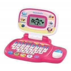 VTech Peque Ordenador Educativo Infantil, Color Rosa