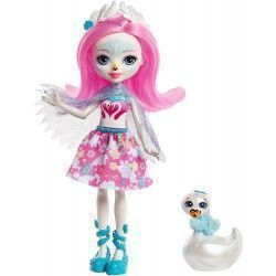 Enchantimals Muñeca Saffi Swan