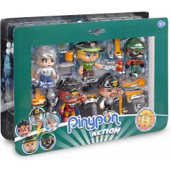 Pinypon Action - Pack de 5 Figuras