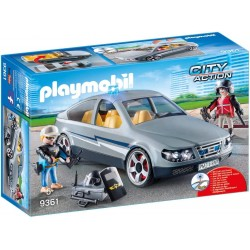 PLAYMOBIL City Action Coche Civil de las Fuerzas Especiales
