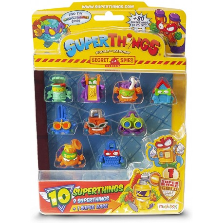 SUPERTHINGS RIVALS OF KABOOM- Blister de 10 Figuras coleccionables