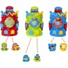 Superzings - Pack de 3 Kazoom Machine con 6 figuras exclusivas