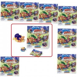 Superzings Serie 5 - AeroWagons con figuras SuperZings - Pack de 8 Sobres