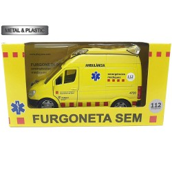 PLAYJOCS Ambulancia SEM (GT-8016)- Coleccionable