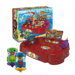 SuperThings - Playset Battle Arena, Contiene 1 Arena, 2 Battle Spinners Exclusivos y 2 SuperThings Exclusivos