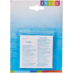 Intex 59631NP - Set de reparación parches autoadhesivos, 7 x 7 cm